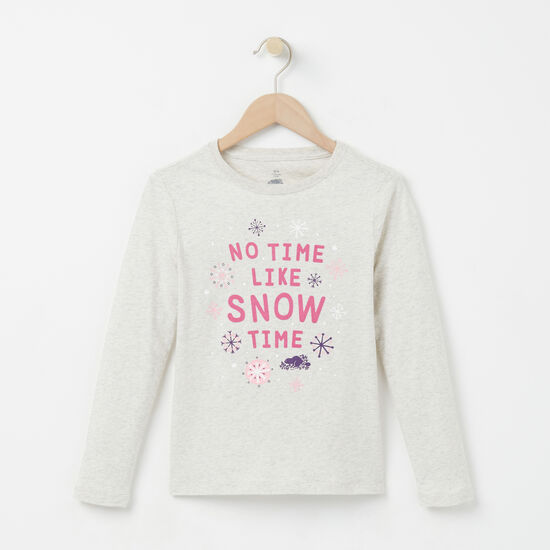Roots - Girls Snow Time T-shirt