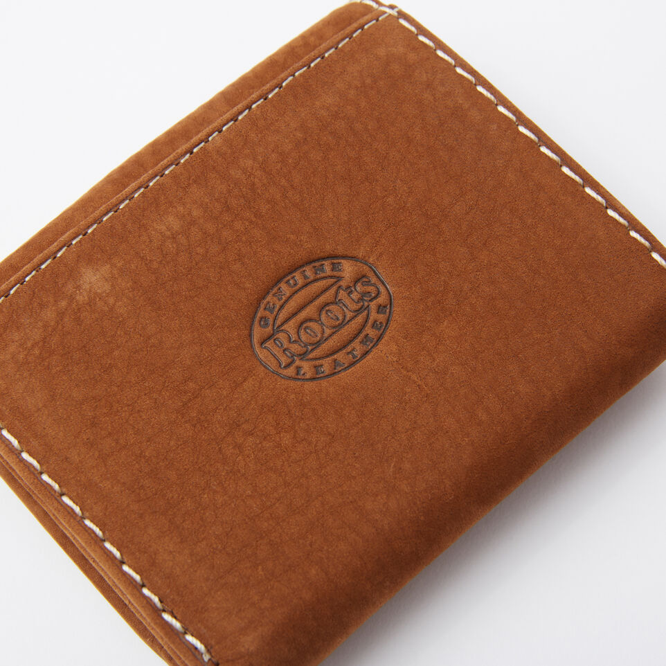 Roots-undefined-Easy Trifold Wallet Waterbuck-undefined-F