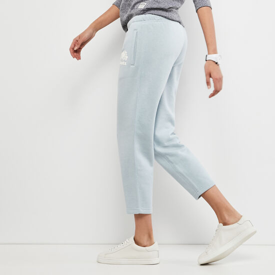 Roots-Women Slim Sweatpants-Original Ankle Sweatpant-Celestial Blue Mix-A