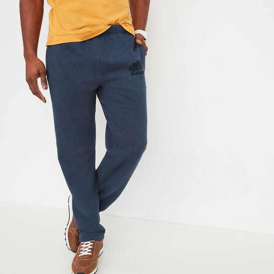 Roots-Men Heritage Sweatpants-Roots Heritage Sweatpant-Cascade Blue Mix-A