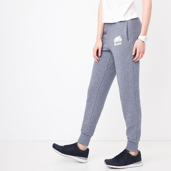 Roots-Women Slim Sweatpants-Slim Charlotte Jogger-Steel Blue Pepper-A