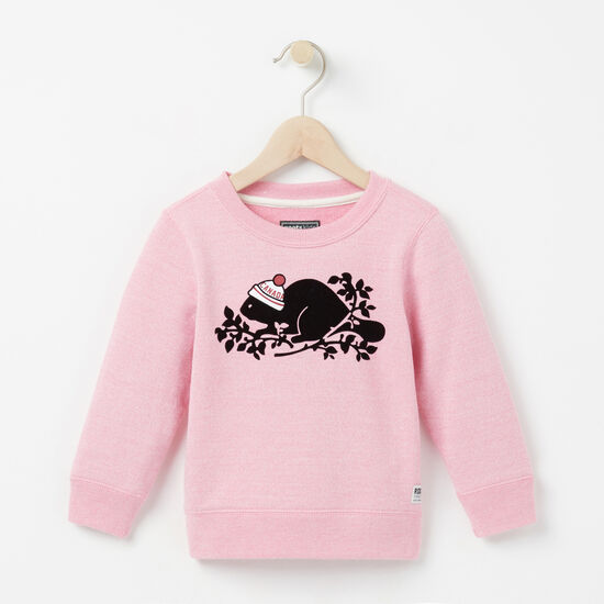 Roots - Toddler Pom Pom Beaver Original Sweatshirt