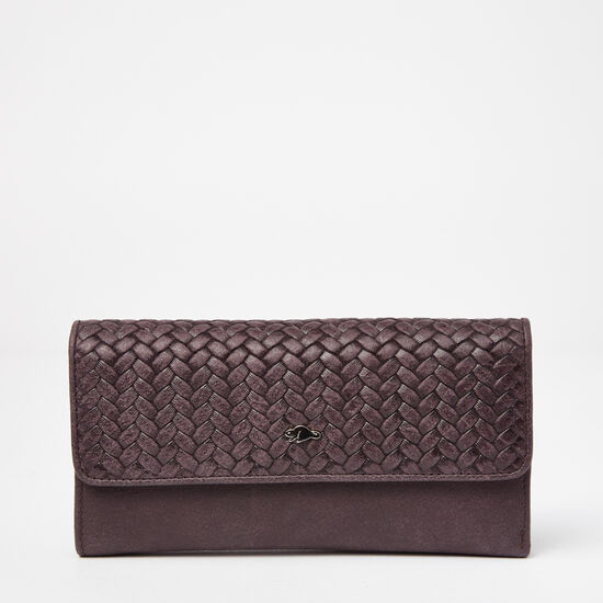 Roots - Medium Trifold Wallet Woven