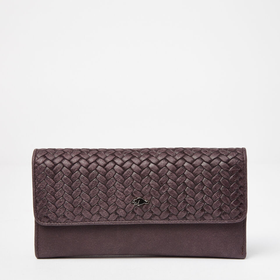 Roots-undefined-Medium Trifold Wallet Woven-undefined-A