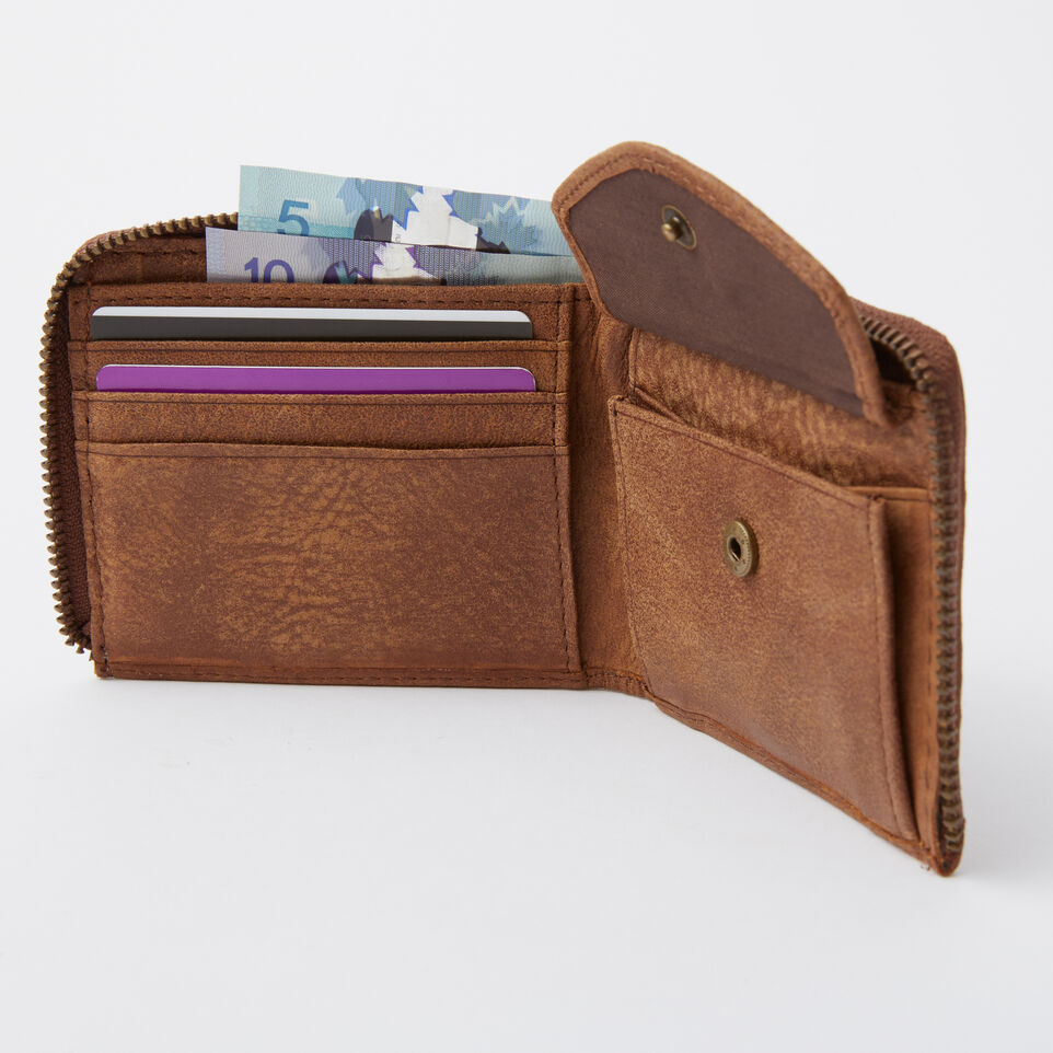 Roots-undefined-Mens Half Zip Wallet Tribe-undefined-B