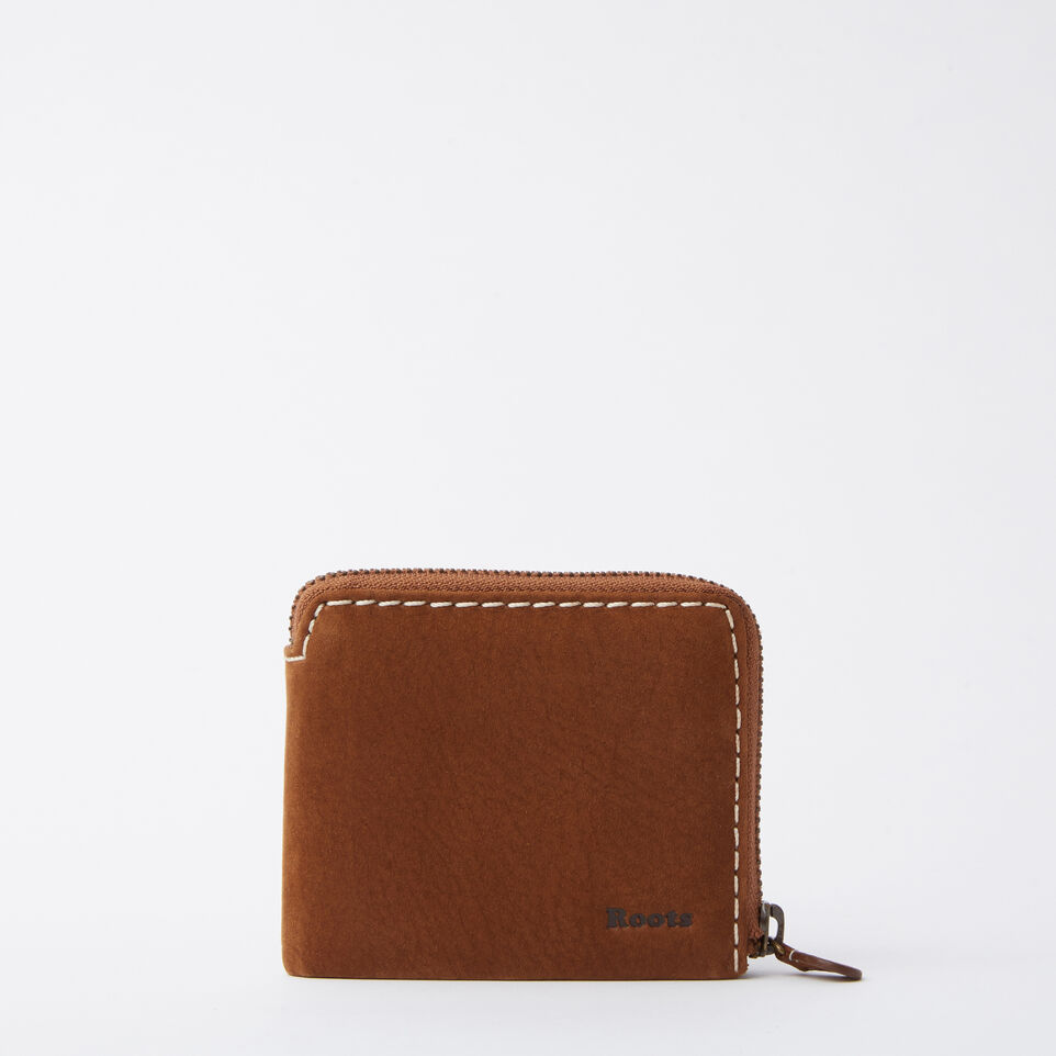 Roots-undefined-Mens Half Zip Wallet Waterbuck-undefined-A