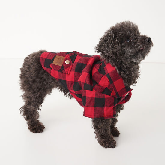 Roots X Canada Pooch Flannel Shirt - Size 12