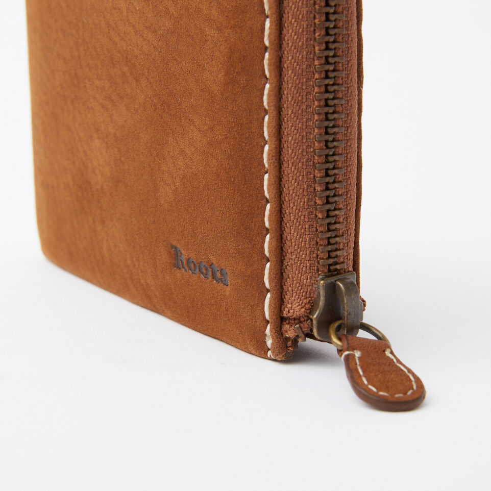 Roots-undefined-Mens Half Zip Wallet Waterbuck-undefined-E