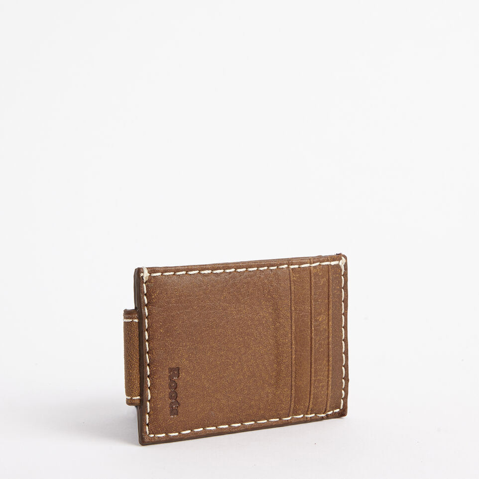 Roots-undefined-Mens Money Clip Card Holder Tribe-undefined-D