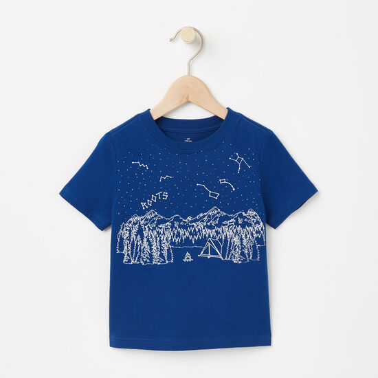 Toddler Glow In The Dark Camp T-shirt