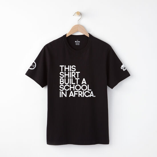 Roots - M Build A School In Africa T-shirt