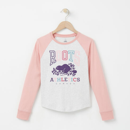 Roots - Girls Sofie Rba Raglan Top