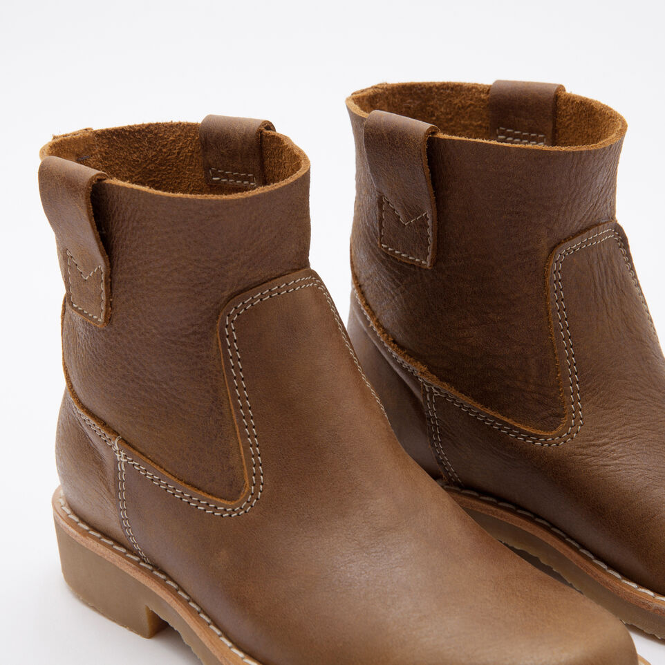 Roots-undefined-Demi-botte En Cuir Tribe-undefined-C