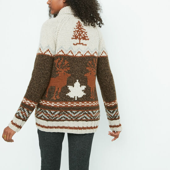 Roots - Mary Maxim Reindeer Sweater