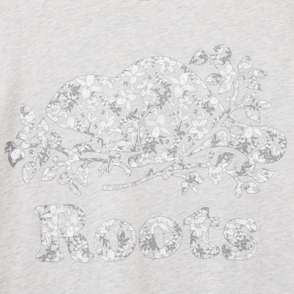 Roots-undefined-Floral Cooper T-shirt-undefined-C