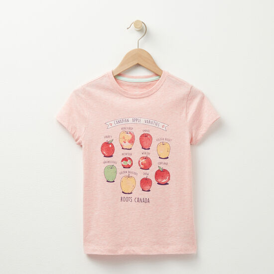 Roots - Girls Canadian Apples T-shirt