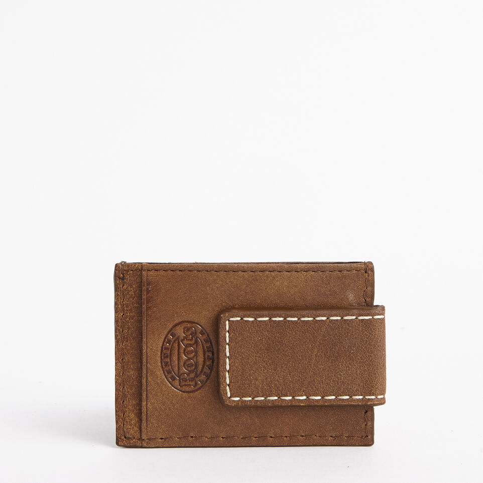 Roots-undefined-Money Clip Card Holder Tribe-undefined-C