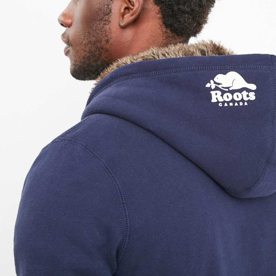 Roots-undefined-Heritage Fur Leaf Hoody-undefined-F