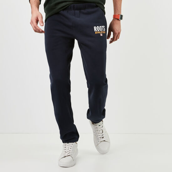 Roots-Men Original Sweatpants-Roots Re-issue Classic Sweatpant-Navy Blazer-A