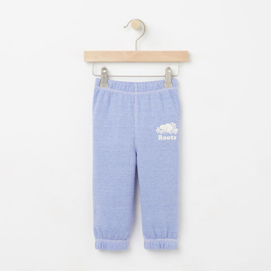 Roots-Kids Baby Girl-Baby Colour Pepper Original Sweatpant-Deep Periwinkle Ppr-A