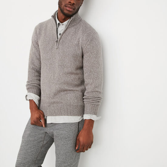 Roots-Men Sweaters & Cardigans-Mason Sweater-Grey Mix-A