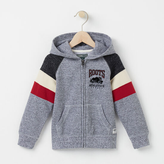 Roots - Toddler Colour Block Full Zip Hoody