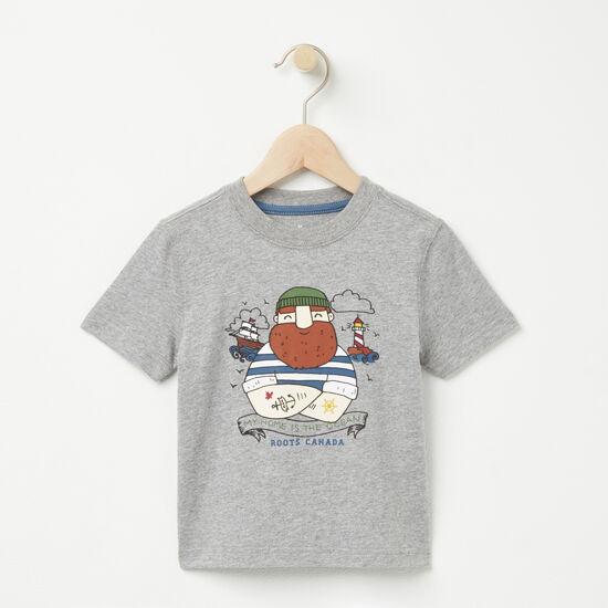 Tout-Petits T-shirt Tough Sailor