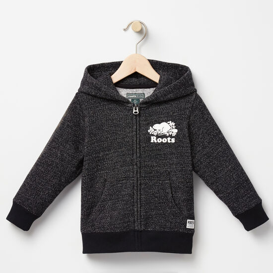 Roots-Kids Toddler Boys-Toddler Original Pepper Full Zip Hoody-Black Pepper-A