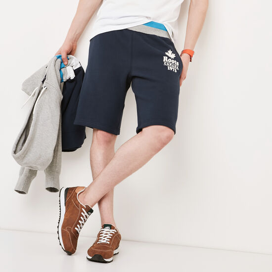 Roots-Men Shorts-Summer Camp Sweatshort-Cascade Blue-A