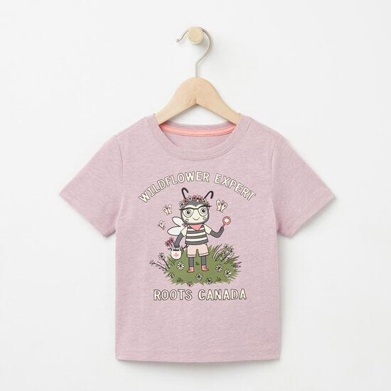 Tout-Petits T-shirt Expert Fleurs Sauvages