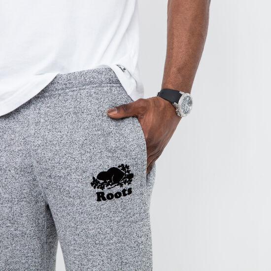 Pantalon Co Ajusté Poivre Sel