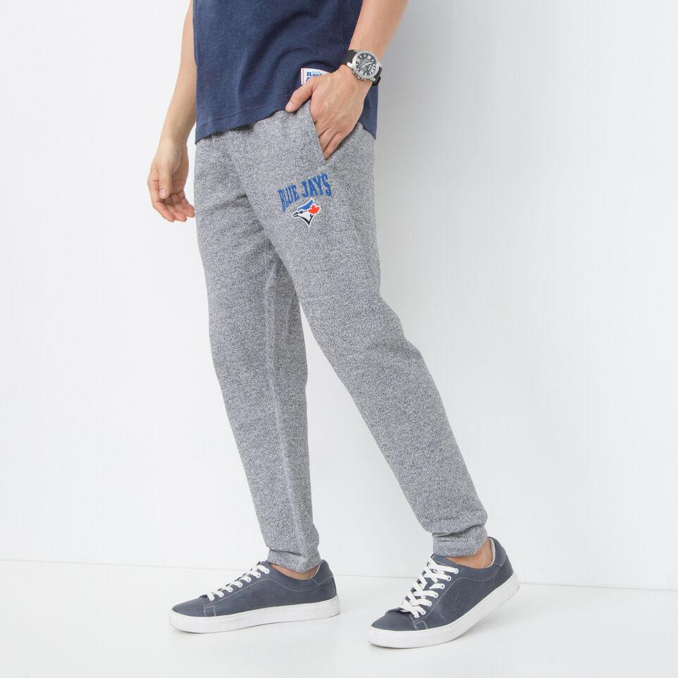 Roots-undefined-Pantalon en coton ouaté Blue JaysMC Stadium-undefined-B