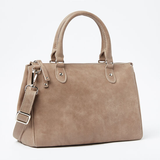 Roots-Women Bags-Small Grace Bag Tribe-Fawn-A