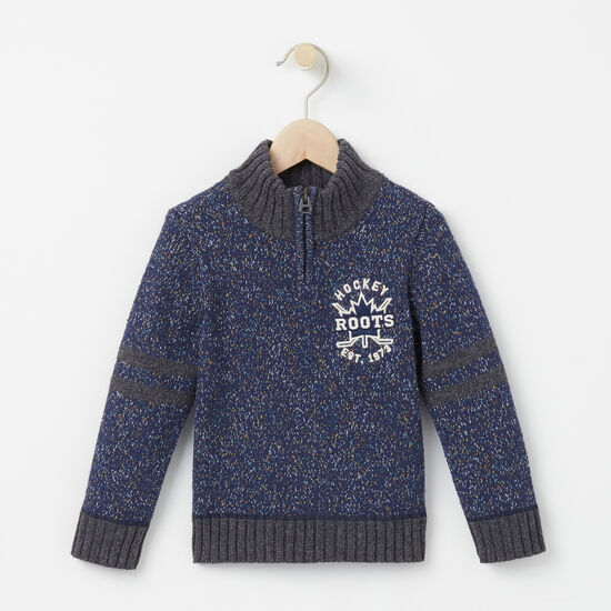 Roots - Toddler Hockey Zip Stein Sweater