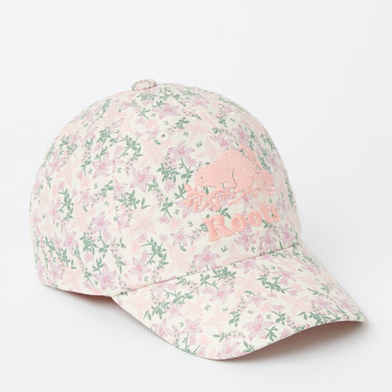 Roots-Kids Accessories-Toddler Cooper Floral Baseball Cap-Multi-A