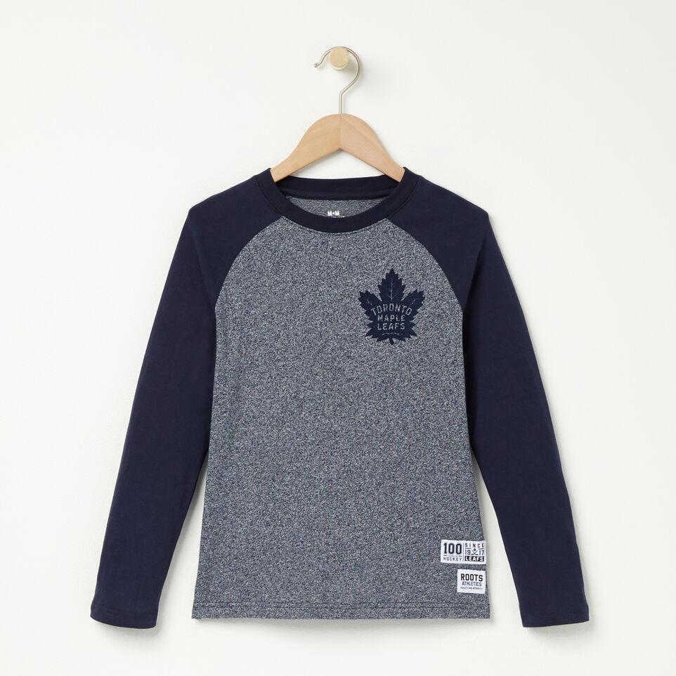 Roots-undefined-Garçons T-shirt Graphique Raglan Mlt-undefined-A