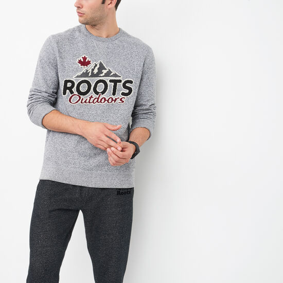 Roots-Men Roots Salt & Pepper™-Heritage Sweatshirt-Salt & Pepper-A