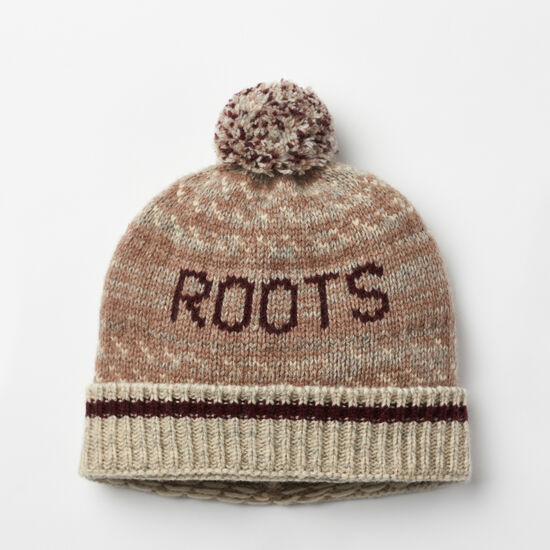 Roots-Sale Women's-Roots Cabin 3-point Toque-Fungi-A