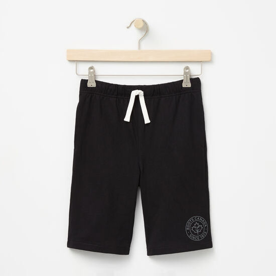 Roots-Kids Bottoms-Boys Bridgewater Shorts-Black-A