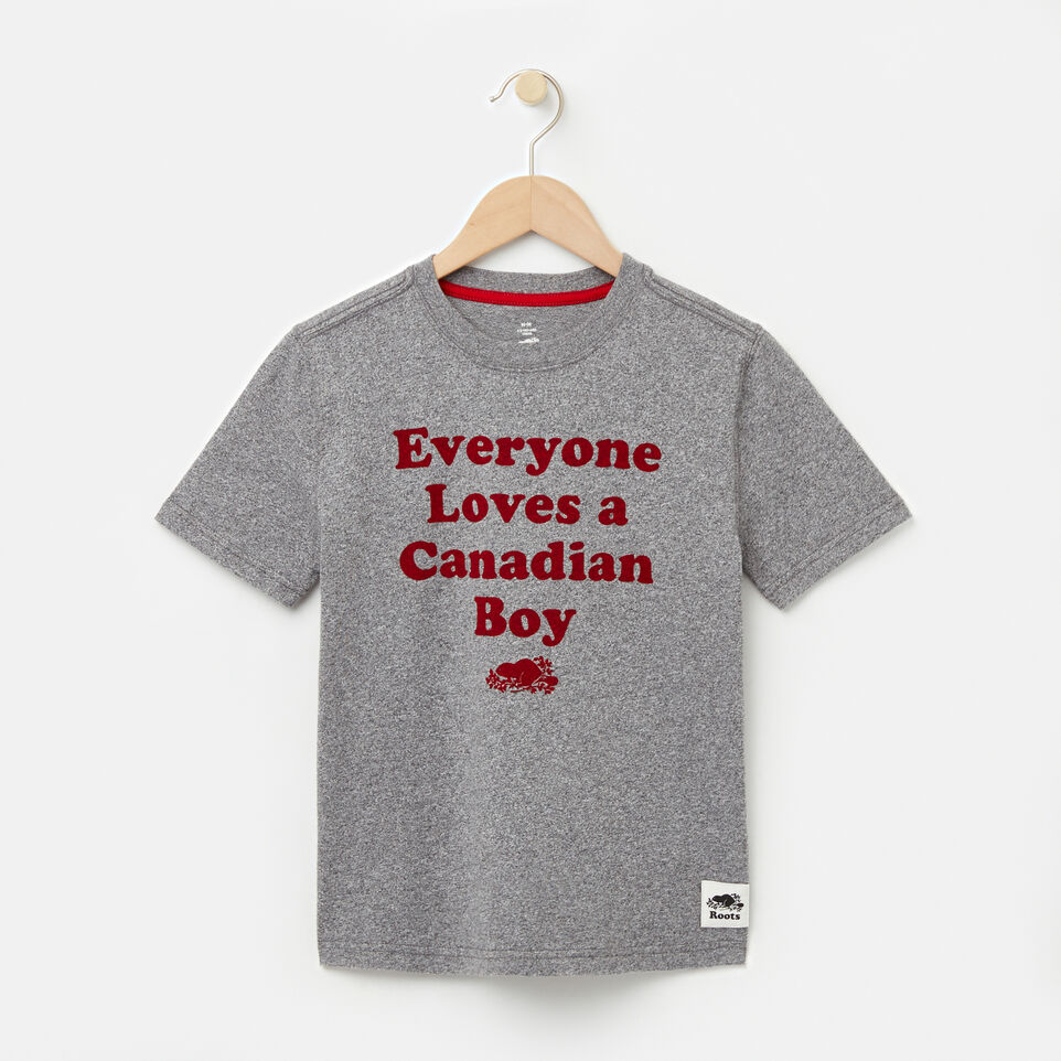 Roots-undefined-Garçons T-shirt Canadian Boy-undefined-A