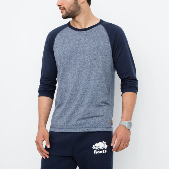Roots - Creemore Peppered Baseball Tee