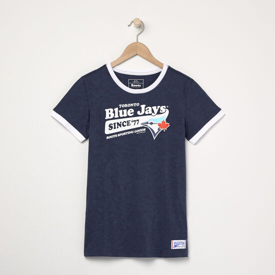 Roots - Womens Blue Jays Ballpark Ringer T-shirt