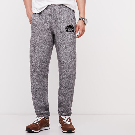 Roots-Men Original Sweatpants-Roots Salt and Pepper Original Sweatpant - Tall-Salt & Pepper-A