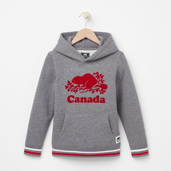 Roots-Kids Roots Salt & Pepper™-Boys Blazon Canada Kanga Hoody-Salt & Pepper-A