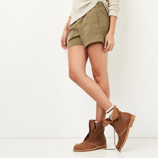 Roots-Women Shorts & Skirts-Day Tripper Shorts-Ivy Green-A