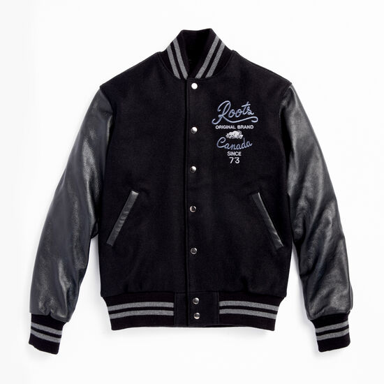 Roots-Men Award Jackets-Roots Anniversary Jacket-Black-A