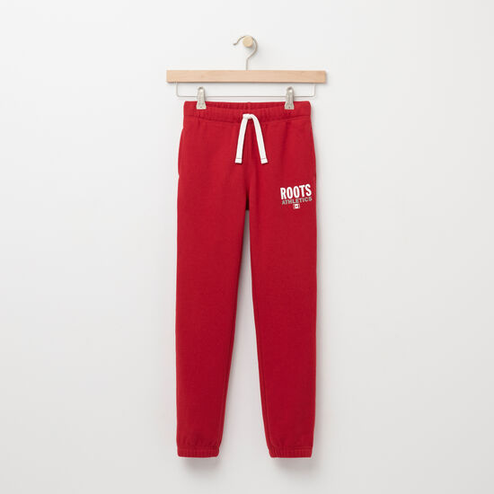 Roots-Kids Roots Re-issue-Girls Roots Re-issue Sweatpant-Scooter Red-A