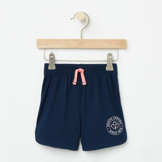 Roots-Kids Toddler Mix & Match 2 For $28-Toddler Lucy Shorts-Cascade Blue-A