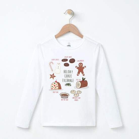 Roots - Girls Holiday Cookie Exchange T-shirt