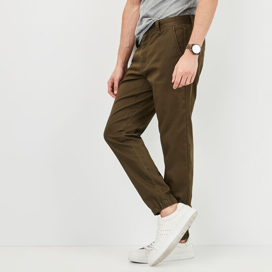 Roots-Men Pants-Forrester Jogger-Forest Night Green-A